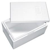 Isolierbox mit Deckel aus Styropor EPS, 580 x 380 x 285 mm, 30,6 Liter