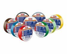 10 Stk. TESA Professional 53988 PVC-Isolierbänder 15mm x 10m, farblich sortiert