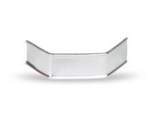 U-Clipse für alle Arten Beutel, 33 mm, Silber, Papier, 1000 Stk.