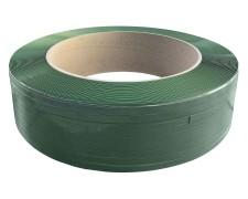 Umreifungsband 910 PET Grün 15,5 mm  x 0,70 mm  Länge 1750meter Kern 406mm