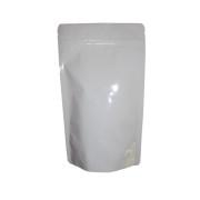 Standbodenbeutel PET weiß glänzend 130x225x70mm, 500ml, 500 Stk.