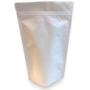 Standbodenbeutel PET weiß matt, 130x 225x 70mm, 500ml, 500 Stk.