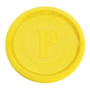 Pfandmarken gelb, 100 Stk.