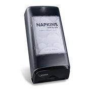 GASTRO Thekenspender für Servietten modernes Design, schwarz semitransparent