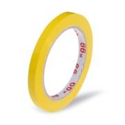 Klebeband Markierungsband Beutelverschluss PVC, 66m x 9mm,  gelb