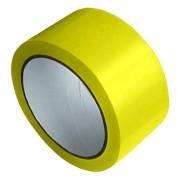 1-PACK Packband Klebeband Markierungsband, PP, 48 mm x 66 m, gelb