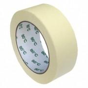 Kreppband Kreppklebeband Montageband PLUS, bis 80° C beige, 38mm x 50m