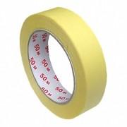 Kreppband Kreppklebeband Abdeckband CLASSIC, gelb, 25mm x 50m