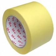 Kreppband Kreppklebeband Abdeckband CLASSIC, gelb, 75mm x 50m