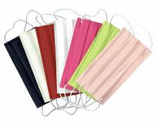 Mundschutz Mundmaske aus Airlaid stoffähnlich 7 Farben farblich sortiert 20 Stk.