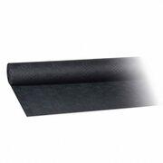 Damasttischdecke Tischtuch aus Papier, gerollt 1,20m x  8m, schwarz