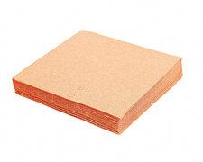 Servietten 33 x 33 cm 1/4-Falz 3-lagig apricot, 20 Stk.