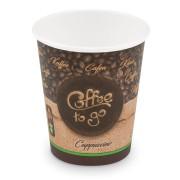 Kaffeebecher M 'Coffee To Go' Cappuccino Caffe Lungo 200ml 280ml,  50 Stk.