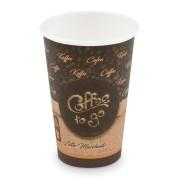 Kaffeebecher L 'Coffee To Go' Mocaccino Cappuccino Melange 250ml 330ml,  50 Stk.