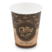 Kaffeebecher L Coffee To Go Latte Macchiato, Melange 350ml 420ml,  50 Stk.