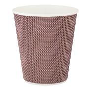 Premium Doppelwand Kaffeebecher Coffee to go beschichtet 200ml 280ml,  25 Stk.