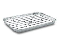 Alu-Grillpfanne Grillschalen BBQ, 34.4 x 22.4cm, mehrfach verwendbar, 100 Stk.
