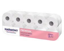 Toilettenpapier Tissue 2-lagig Harmony Professional, 200 Blatt, 10 Stk.