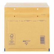 AROFOL CLASSIC Luftpolstertasche  CD, 180x165mm, für CD/DVD, braun