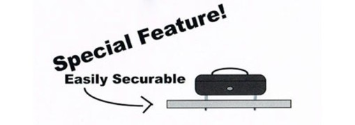 Geldkassette aus robustem Stahl mit herausnehmbaren Münzfächern 250 mm, schwarz