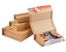 Universalverpackung MUWE 352, 217x155 Höhe 10-50mm, für A5, braun
