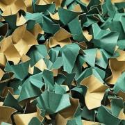 DECOFILL dekorative Papier-Verpackungschips Polsterchips, grün, 120 Liter