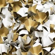 DECOFILL dekorative Papier-Verpackungschips Polsterchips, weiß, 120 Liter