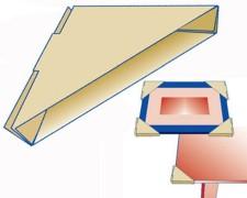 Eckenschutz-Set für Bilder, Spiegel, Tische, Platten,  8 Stk.