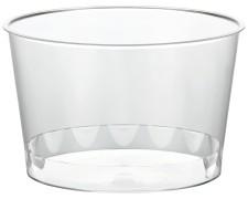 Eisbecher PS rund 300 ml Ø 11 cm | Höhe 5,8 cm glasklar CLASSIC   50 Stk.