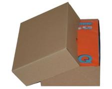 Stülpdeckelkarton aus Wellpappe MEDIUM für Din A4, 305x215x100-(170)mm