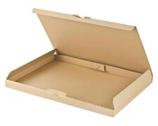 Großbriefkarton Maxibriefkarton DHL 255x190x20mm DIN A5/B5 braun