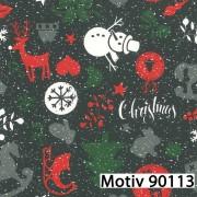 Weihnachtsgeschenkpapier 50 cm x 200 m | Motiv 90113