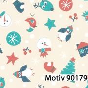Weihnachtsgeschenkpapier 50 cm x 200 m | Motiv 90179