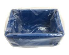 Seitenfaltensack 615x415x760mm für Kleinladungsträger KLT Eurokiste transparent
