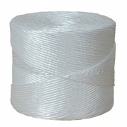 Packschnur, Kordel, Bindfaden, PP, extrastark, weiß, 3.0mm, 600 Meter