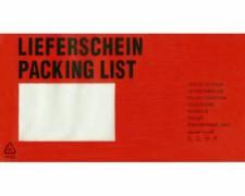 DOCUFIX Dokumententaschen *Lieferschein*, DIN Lang 240x115mm,  250 Stk.
