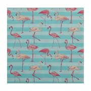 Motivservietten 3-lagig, 33 x 33 cm, Flamingo, 20 Stk.