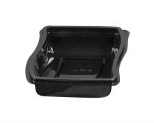 Gourmet Box Schale, 675 ml, 150x179x50mm, PET, schwarz,  60 Stk.