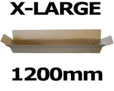 Faltkarton Versandhülse 1200x110x110mm sehr stabil, 2wellig