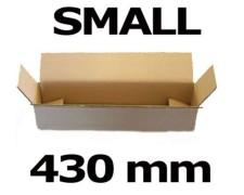 Faltkarton Versandhülse  430x105x105mm sehr stabil, 2wellig