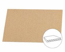 Palettenzwischenlage Kartonplatte für EURO Paletten 1200x800mm 1 wellig