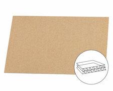 Palettenzwischenlage Kartonplatte für EURO Paletten 1200x800mm 2 wellig