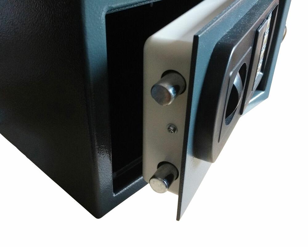 tresor safe 43x36x31cm mit elektronischem zahlenschlo f r. Black Bedroom Furniture Sets. Home Design Ideas