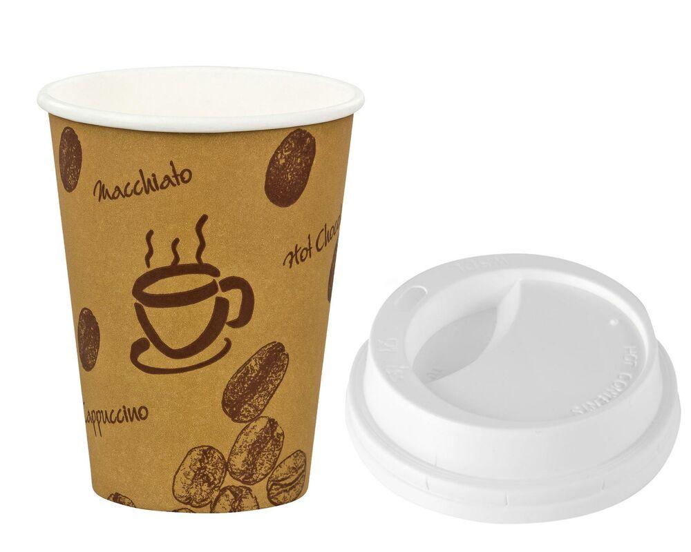 kaffeebecher premium coffee to go mit deckel pappe. Black Bedroom Furniture Sets. Home Design Ideas
