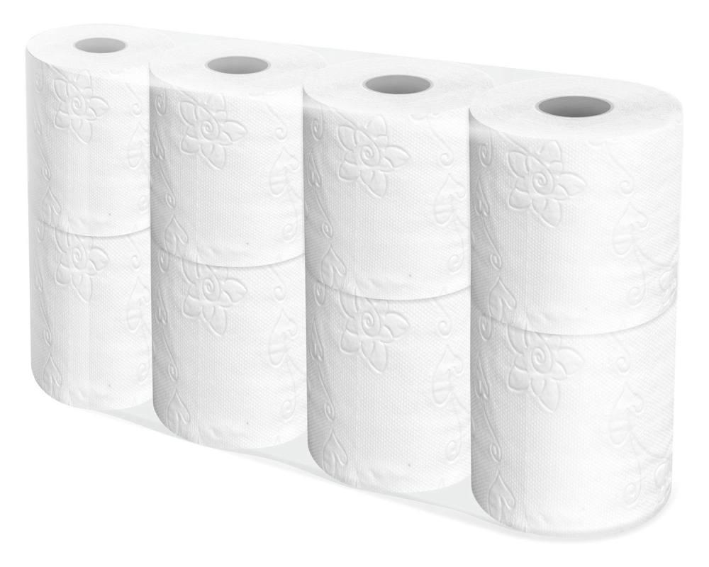 toilettenpapier wc papier 3 lagig tp neutral 250 blatt 8 stk. Black Bedroom Furniture Sets. Home Design Ideas