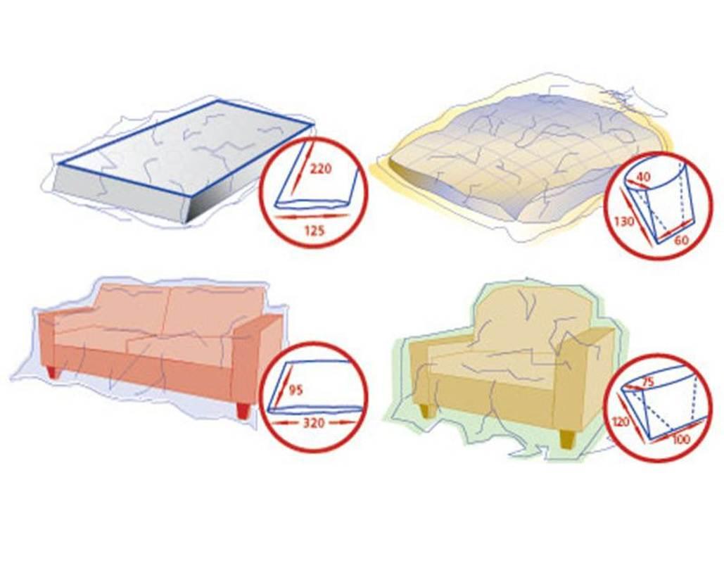 Und Sessel schutzhüllen set für matratze bett und sessel