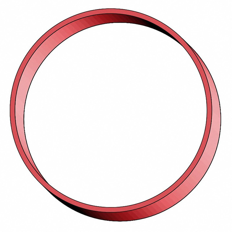 Gummiringe Gummibänder Ø  80mm, 4 mm in rot, ca. 520 Stk., 1000 gr.- 1 kg.