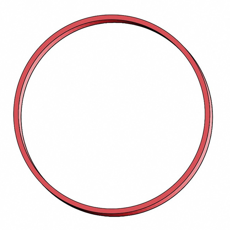 Gummiringe Gummibänder Ø  60mm, 1 mm in rot, ca.  90 Stk., 50 gr.