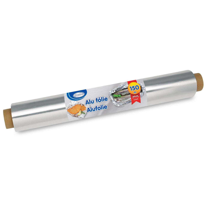 Alufolie robuste Qualität, 45 cm x 150 m, 11 µm einzeln verpackt