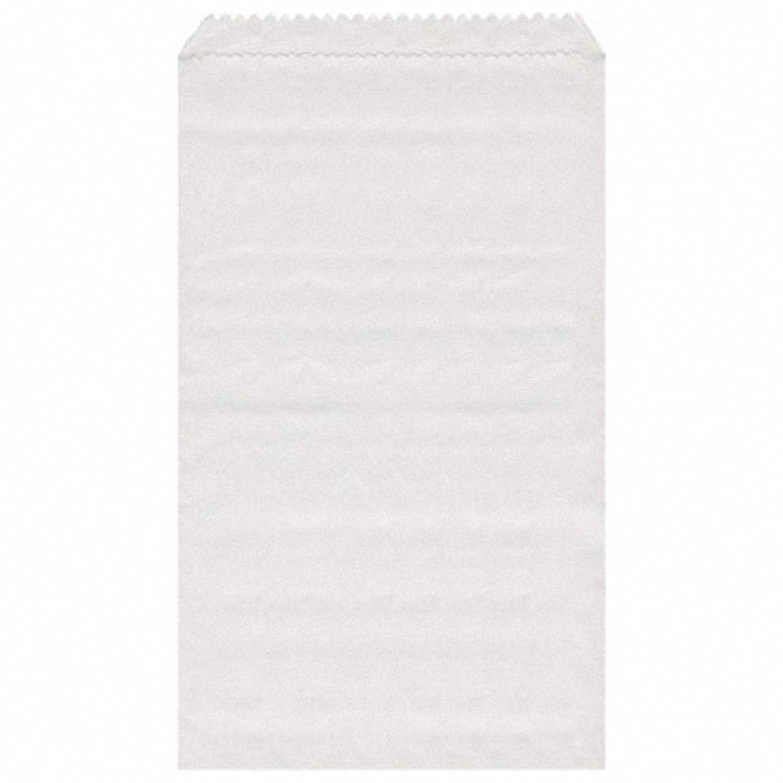 Papierflachbeutel weiß 11 x 17 cm, 3000 Stk.